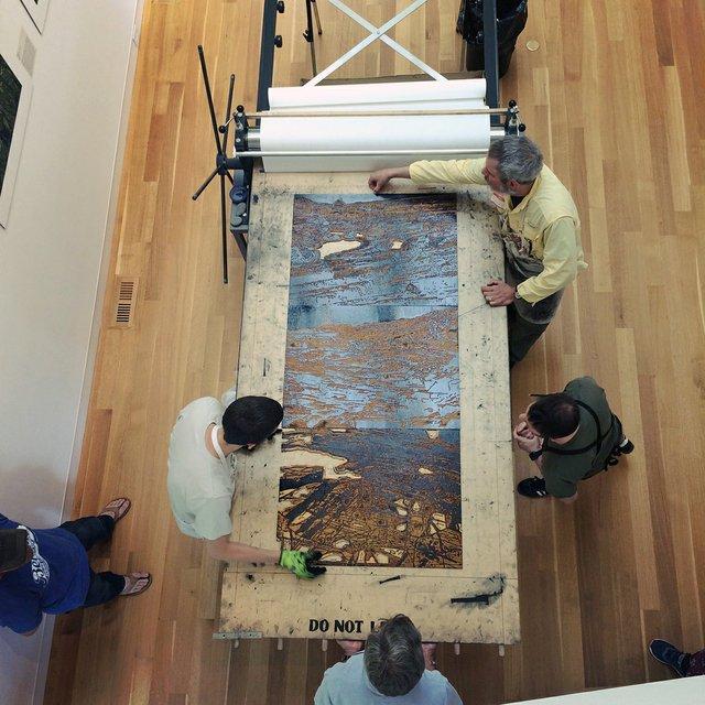 BIG INK Printing Work by Jane Goldman at Dedee Shattuck Gallery.jpg