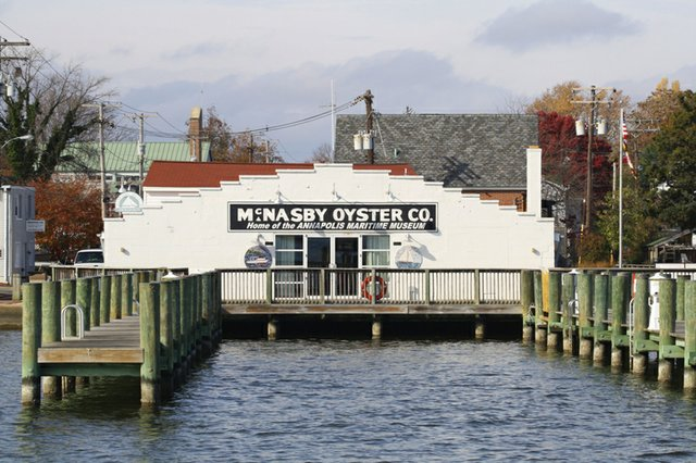 Annapolis Maritime Museum, formerly McNasby's Oyster Packing Company on Back Creek on the Chesapeake Bay