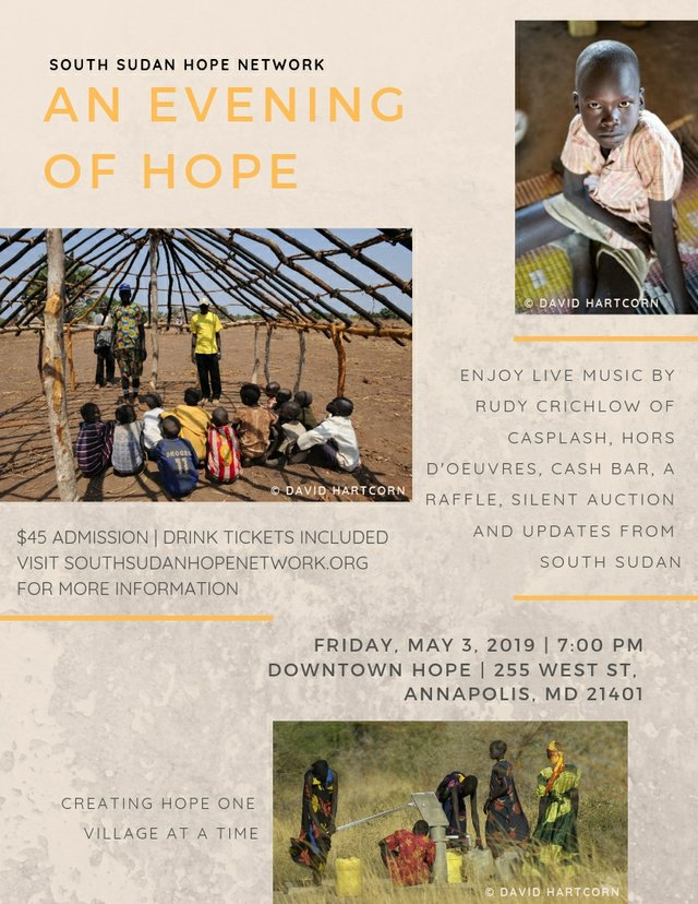 An Evening in Support of South Sudan - What's Up? Media