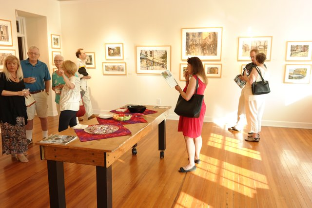 Reception Gallery Opening Maryland Hall.jpg