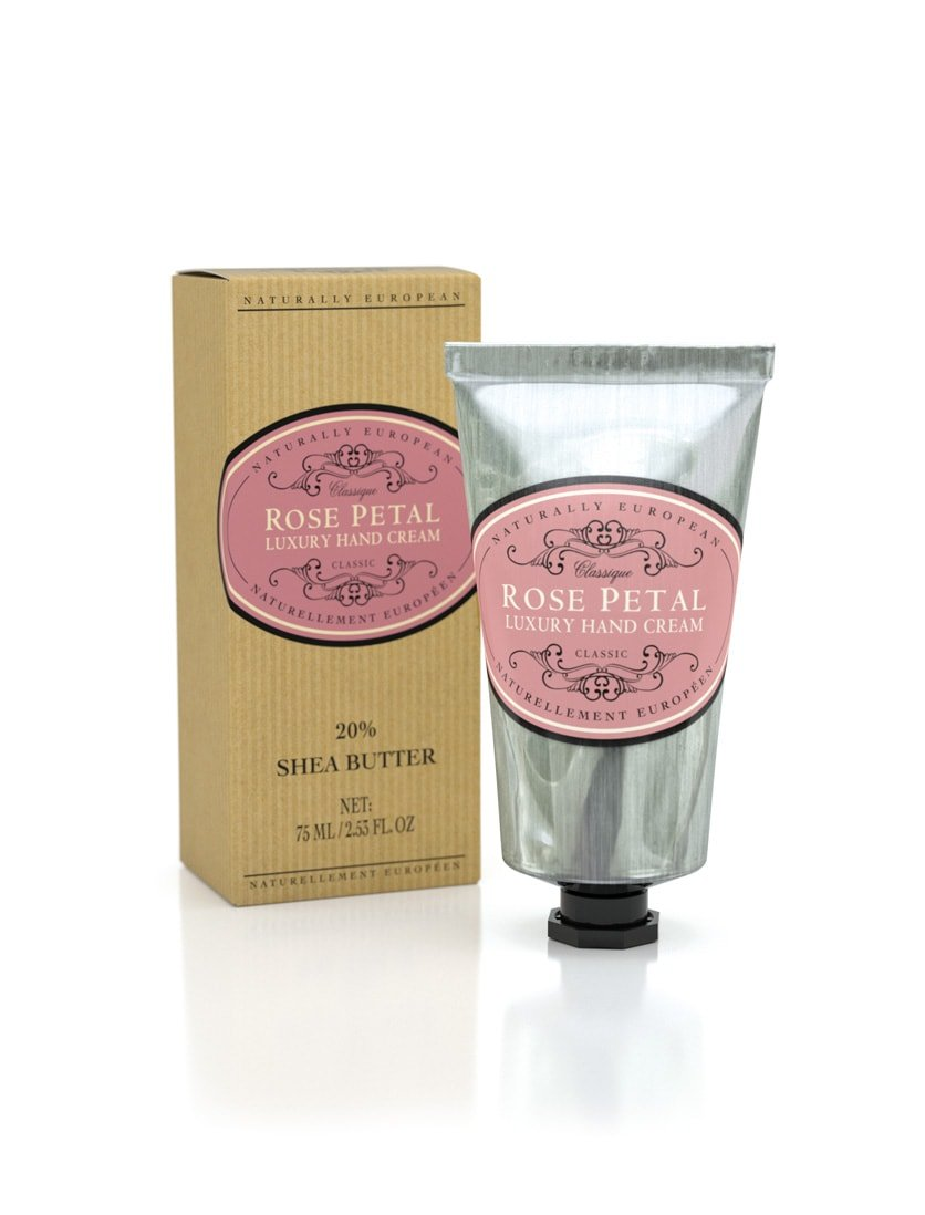 Naturally European Luxury Hand Cream (Rose Petal) by The Somerset Toiletry Company