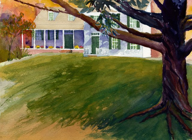 Linthicum Walks Exterior - Joan Machinchick painting - 2000.jpg