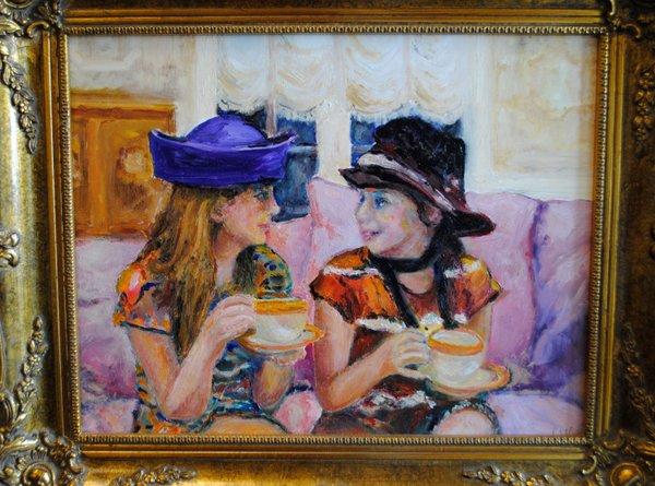 Girls Having Tea - Betty Pethel.jpg