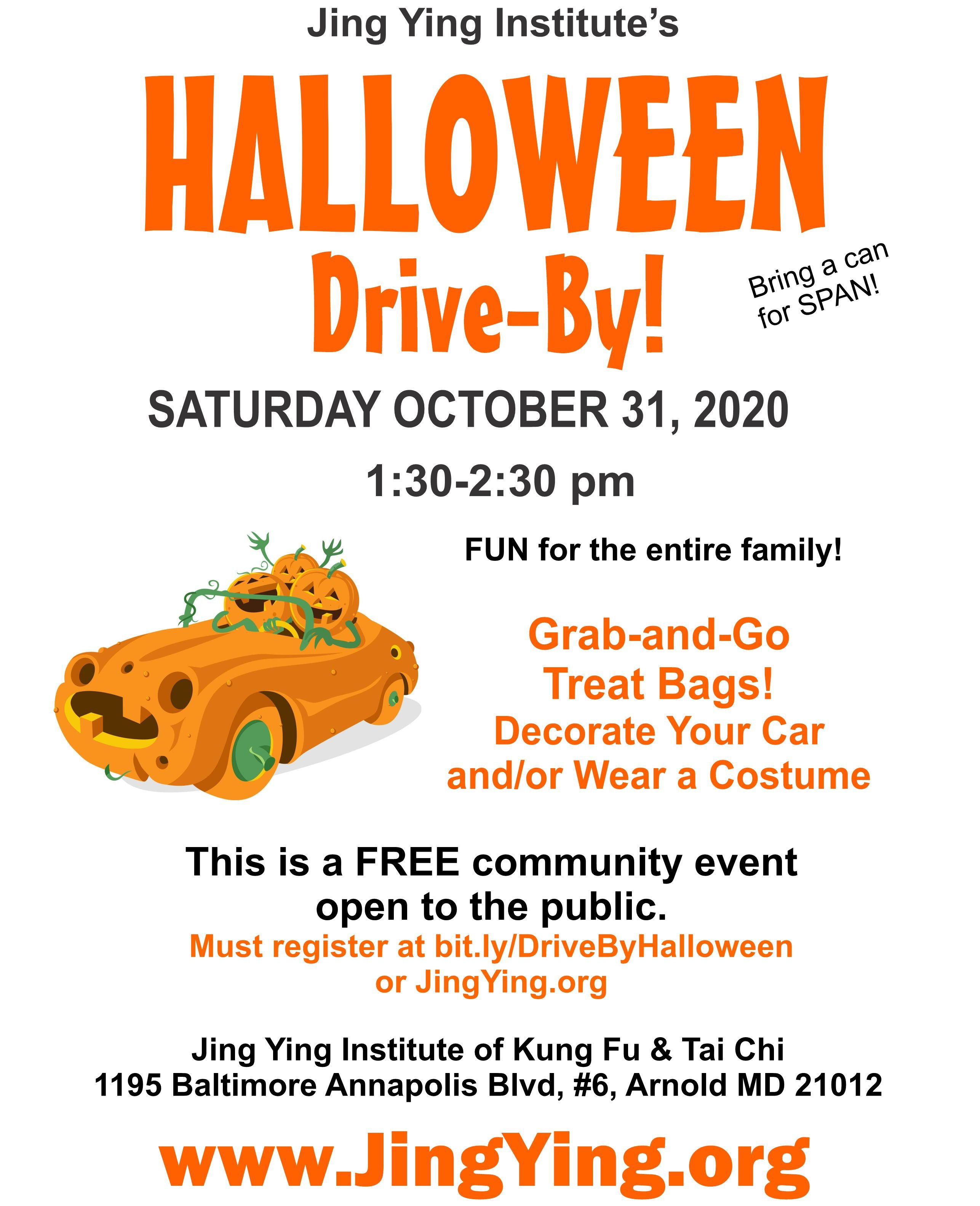Halloween Events For Kids Annapolis 2020 Halloween Drive By (FREE)   What's Up? Media
