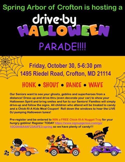 Spring Arbor of Crofton Halloween Parade.jpeg