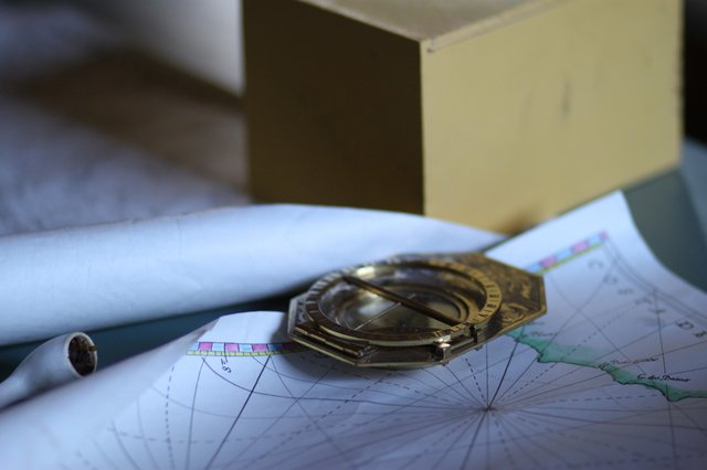 Compass and map- Homeschool.JPG