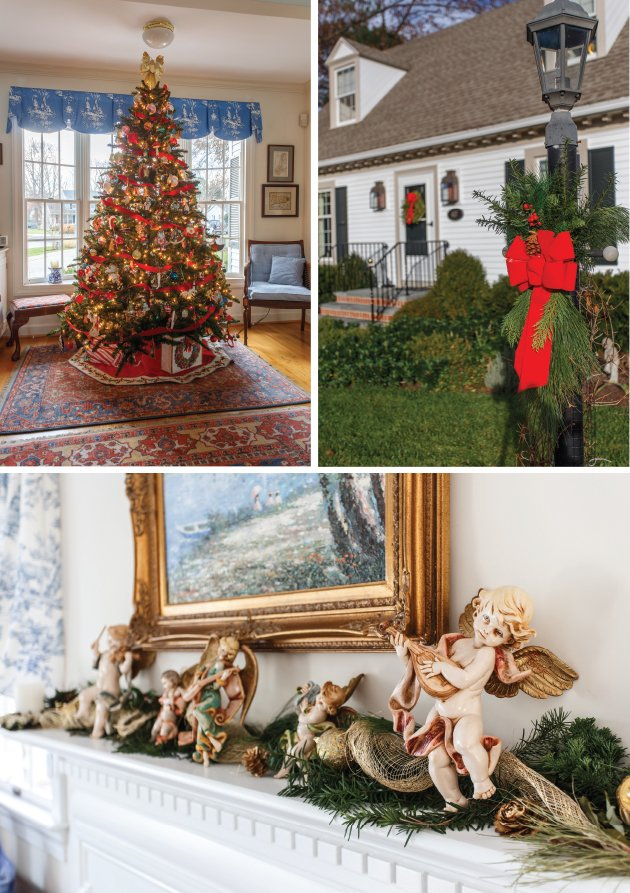 Dressed For The Holidays Exemplary Christmas Decor At A Showcase Property In St Michaels What S Up Media